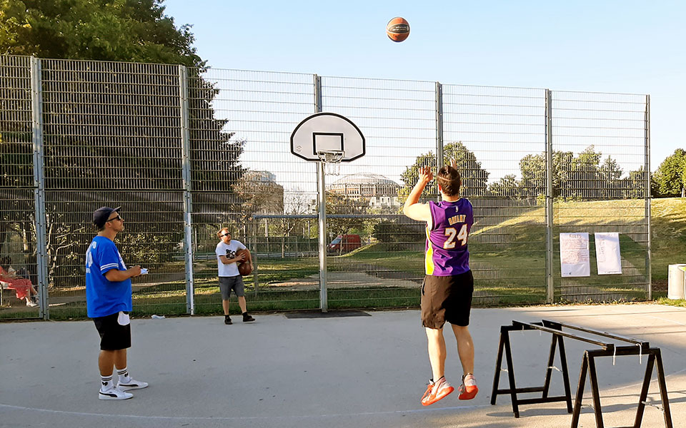 Basketball: 3-Punkte-Contest